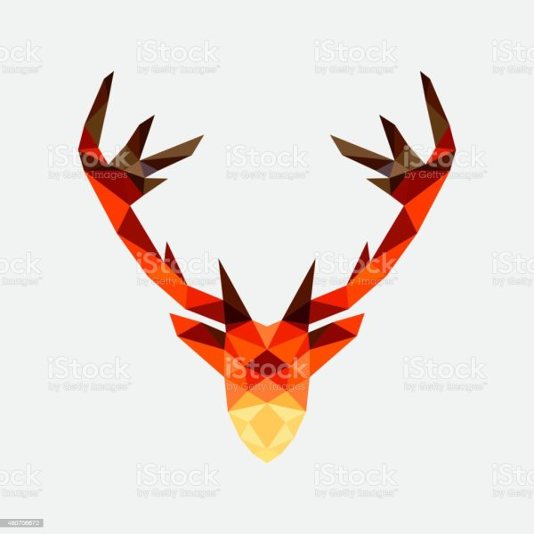 Deer Head Geometric Design Stock Vector Art & Of 2015 480706672 Istock