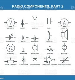 designation of components in the wiring diagram royalty free designation of components in the wiring [ 1024 x 1024 Pixel ]
