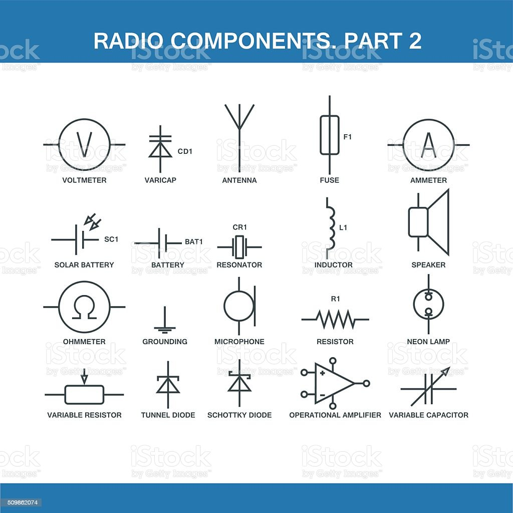 hight resolution of designation of components in the wiring diagram royalty free designation of components in the wiring