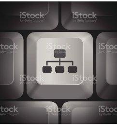 diagram icon on computer keyboard illustration  [ 1024 x 810 Pixel ]