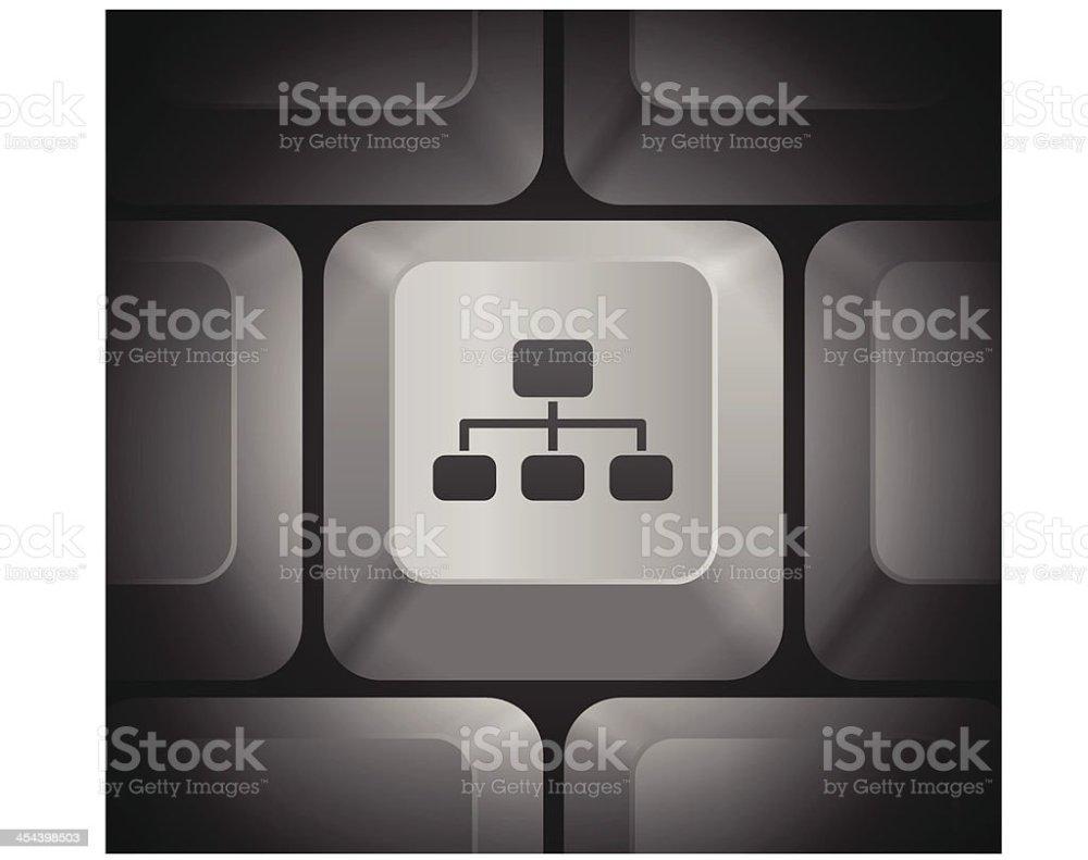 medium resolution of diagram icon on computer keyboard illustration
