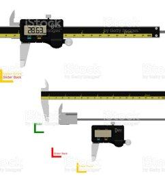 digital vernier caliper royalty free digital vernier caliper stock illustration download image now [ 1024 x 768 Pixel ]