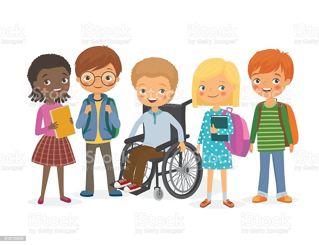 Best Special Needs Children Illustrations RoyaltyFree