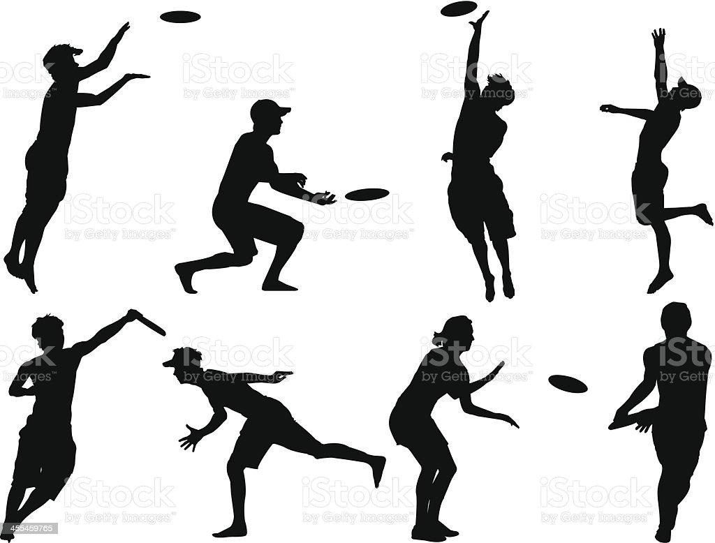 best ultimate frisbee illustrations