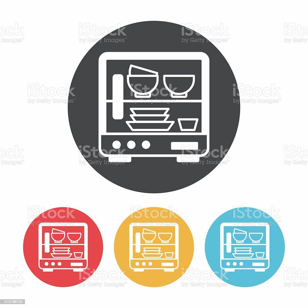 dishwasher icon stock illustration