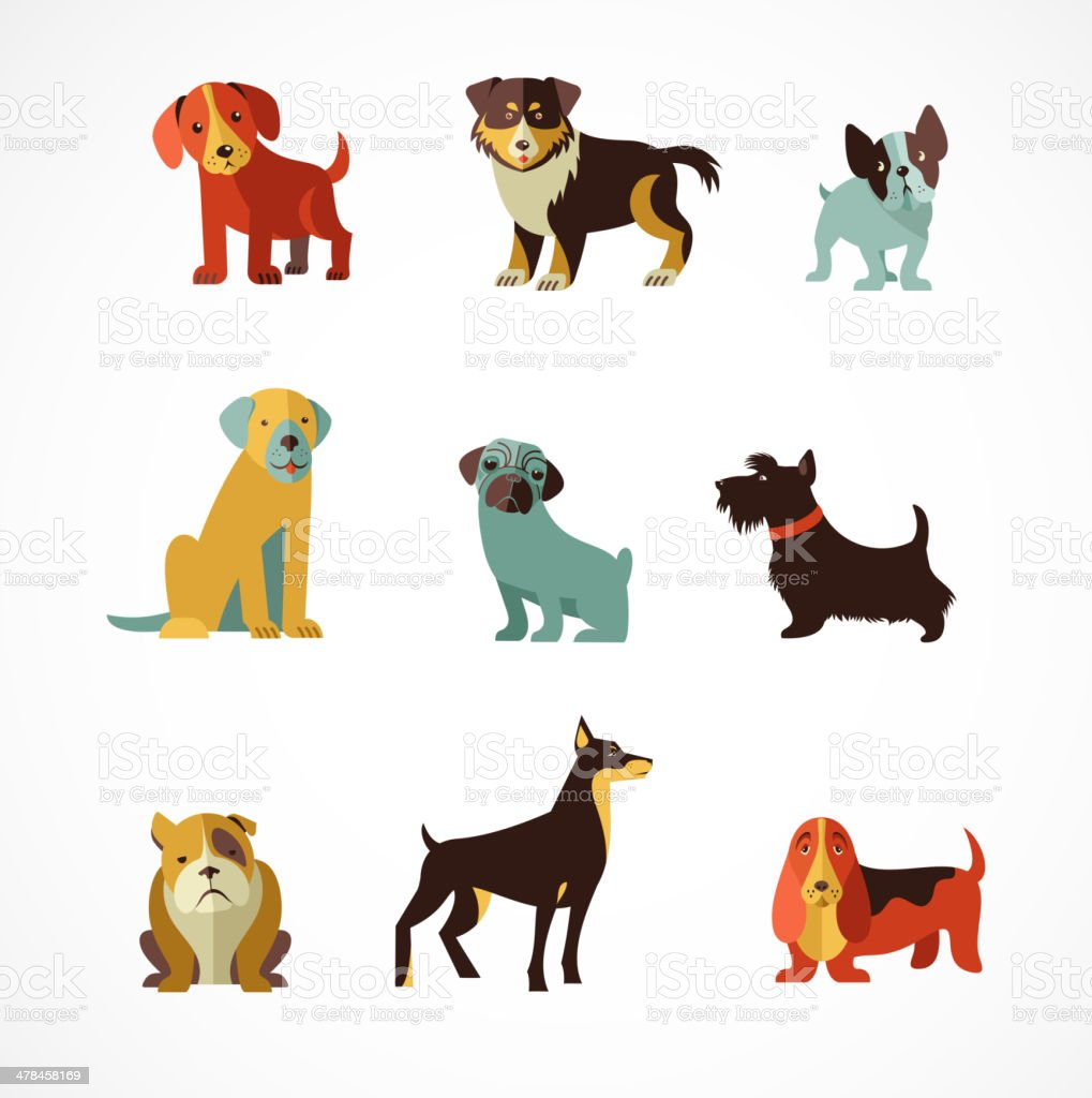 Dog Clip Art Vector Images Illustrations iStock