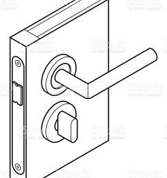 door lock diagram royalty free door lock diagram stock vector art amp more images [ 786 x 1024 Pixel ]