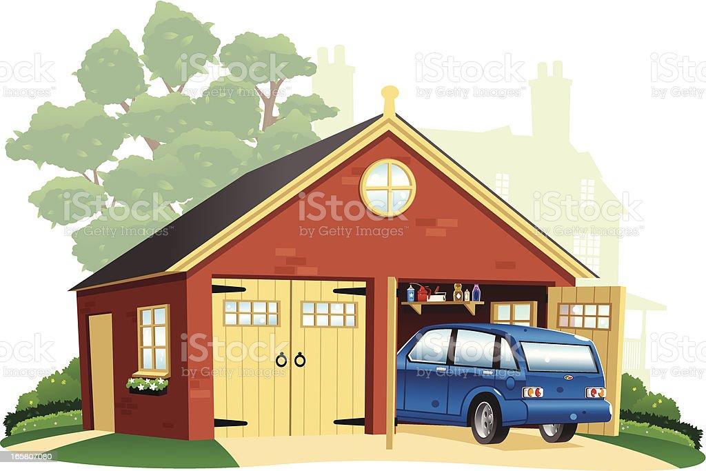 royalty free driveway clip art