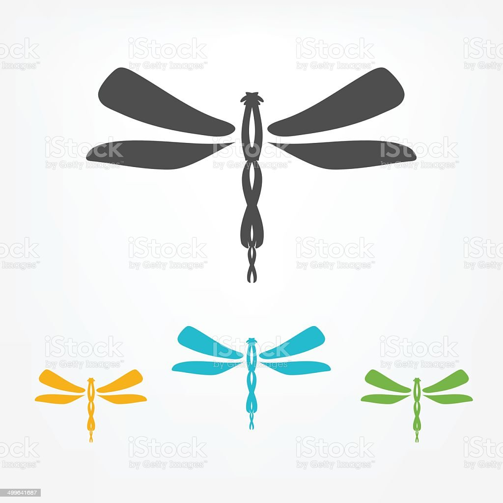 dragonfly clip art vector