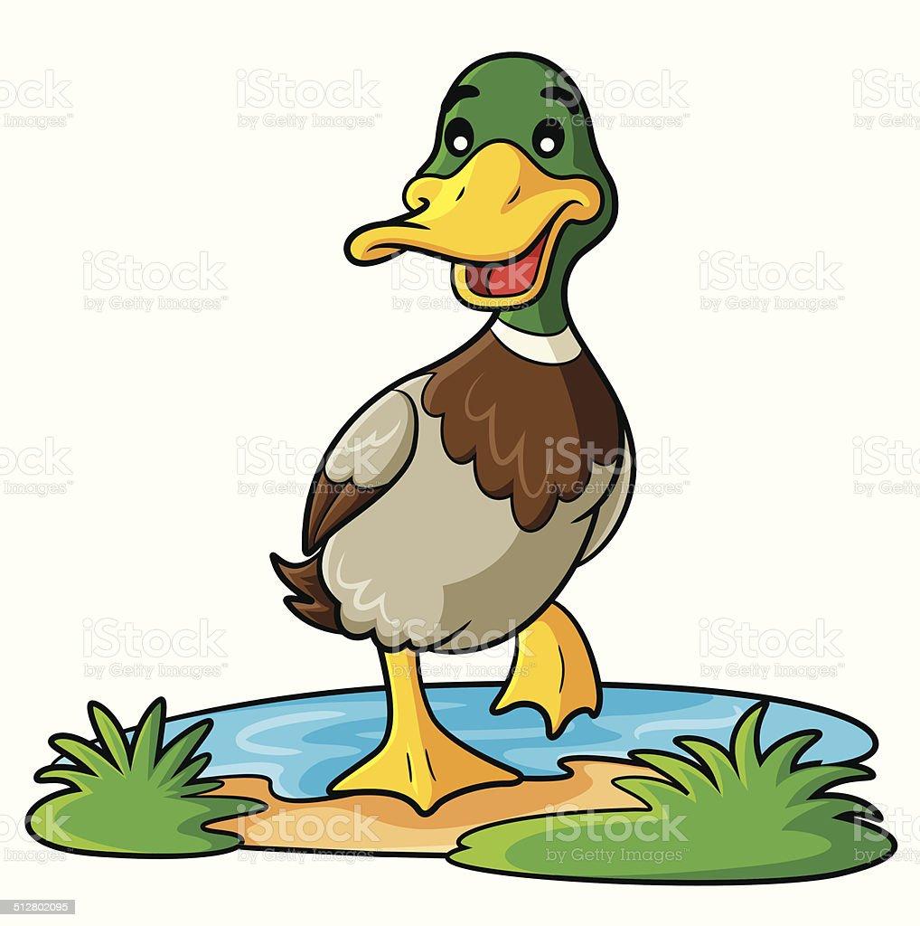 royalty free duck clip art vector