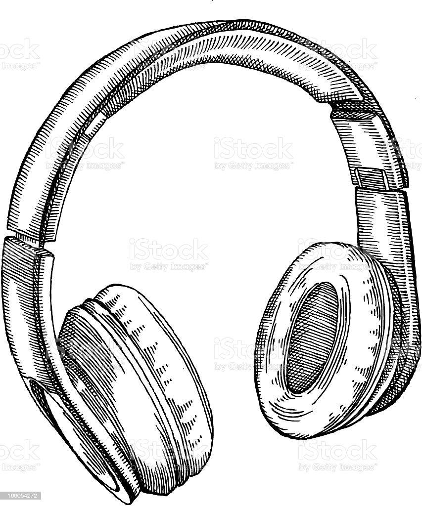 Earphones Stock Vector Art & More Images of Audio