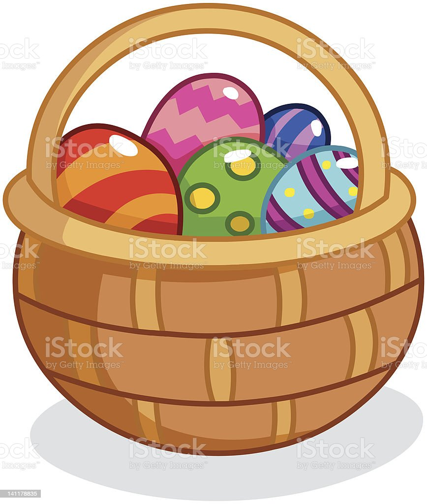 easter basket illustrations