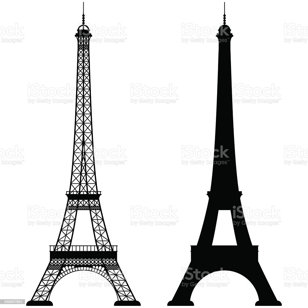 best eiffel tower illustrations