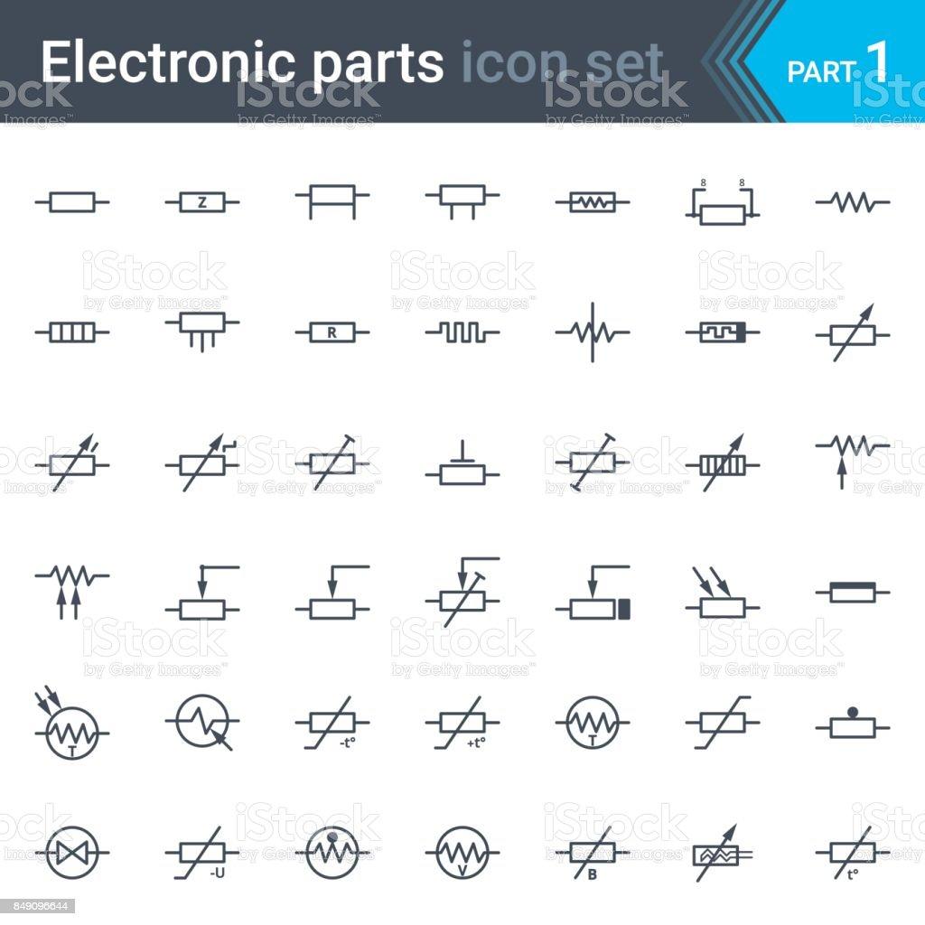 Circuit Symbol Integrated Circuits Circuit Schematic Symbols
