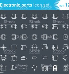electric and electronic icons electric diagram symbols digital electronics flip flop  [ 1024 x 1024 Pixel ]