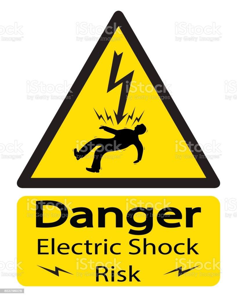 electric shock illustrations