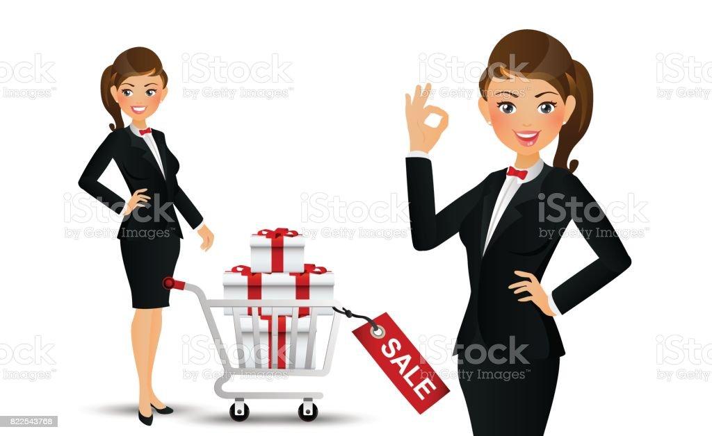 Art Salesman Clip Group