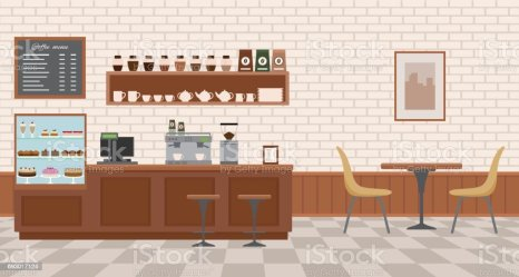 5 004 Cafe Counter Illustrations Royalty Free Vector Graphics & Clip Art iStock