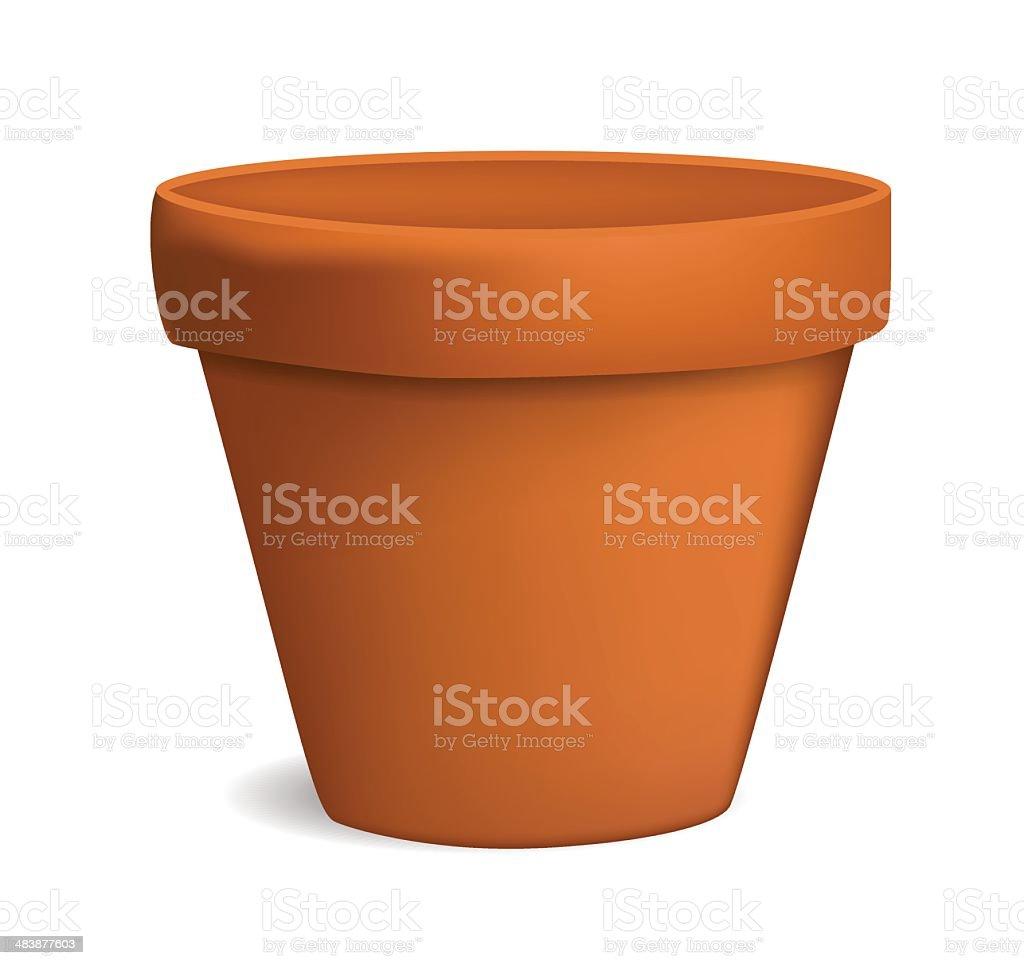 flower pot clip art vector