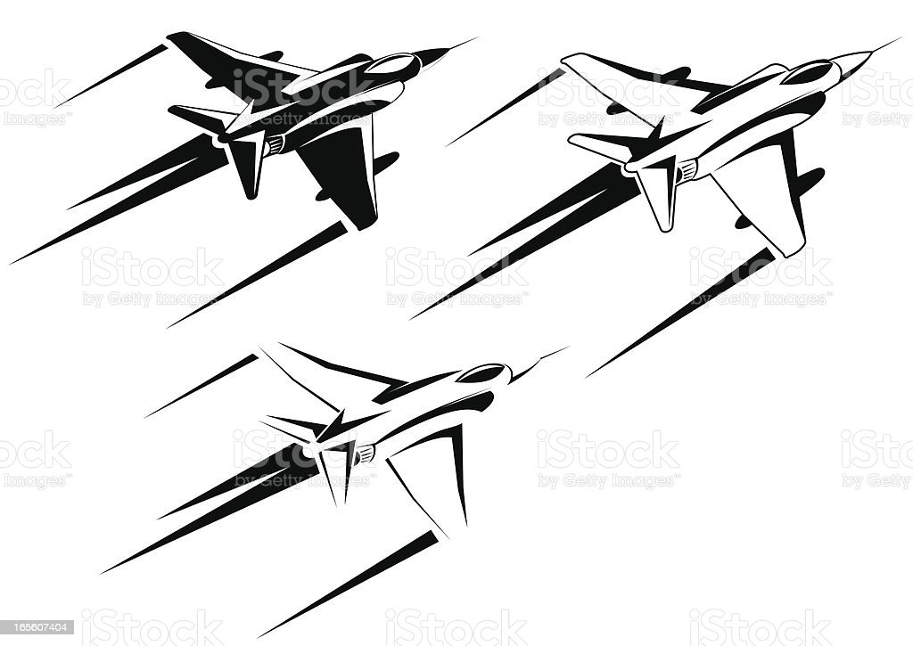 F4phantom Three Versions Stock Vector Art & More Images of