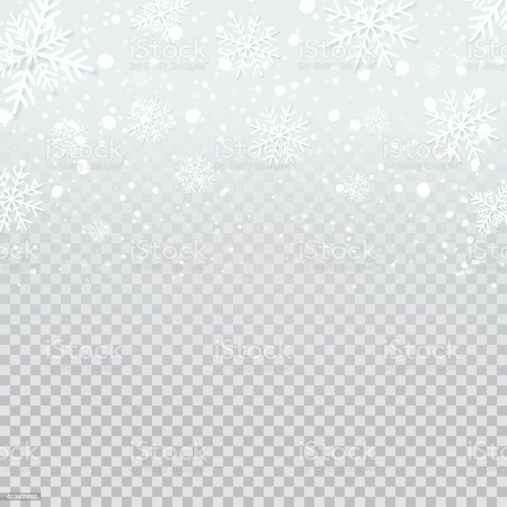 Black And White Polka Dot Wallpaper Border Falling Snow Backdrop On Transparent Background Stock