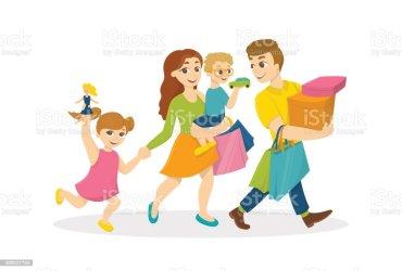 shopping mall clip illustrations vector cartoons graphics