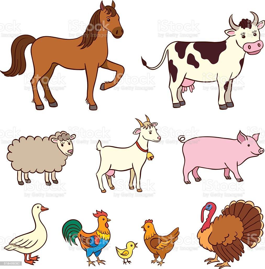 ilustración de animales de