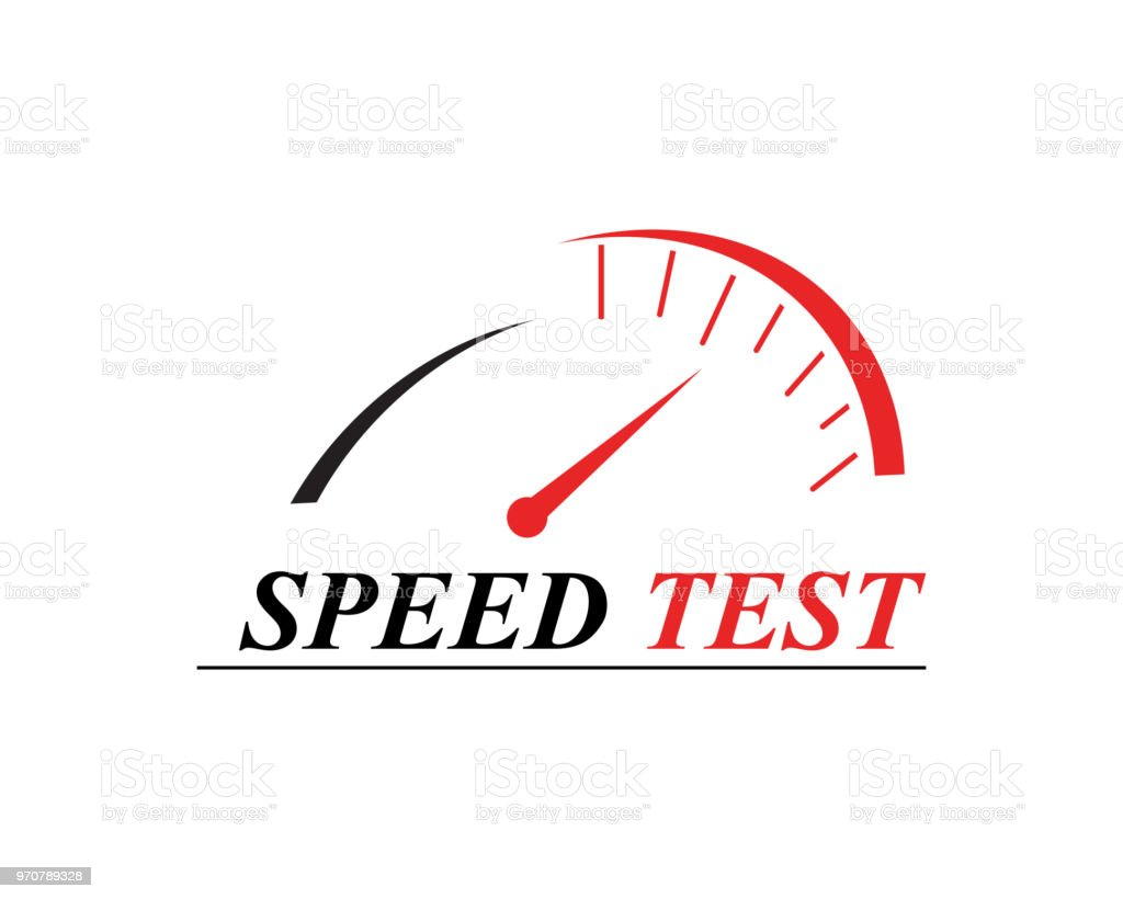 Faster Speed Test Logo Stock Vector Art & More Images of