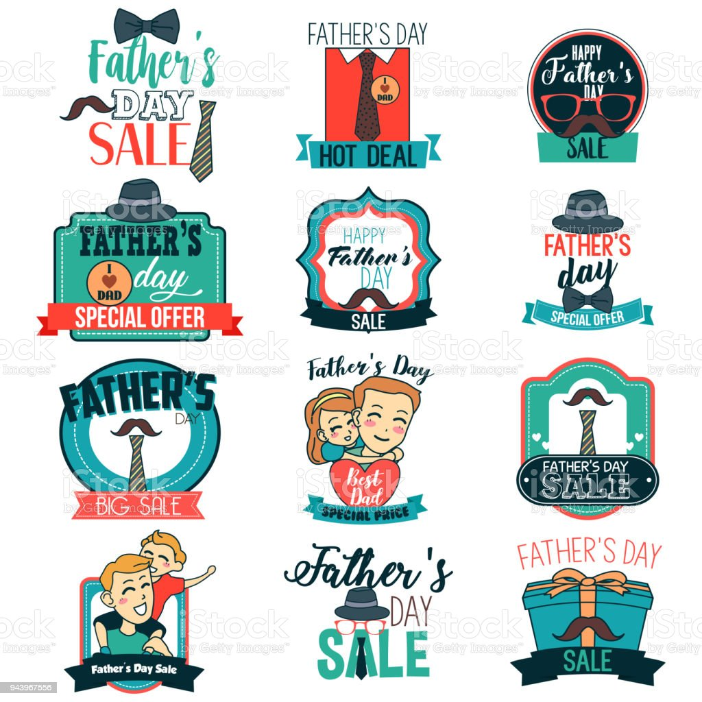 hight resolution of father day sale sign clipart illustration royalty free father day sale sign clipart illustration stock