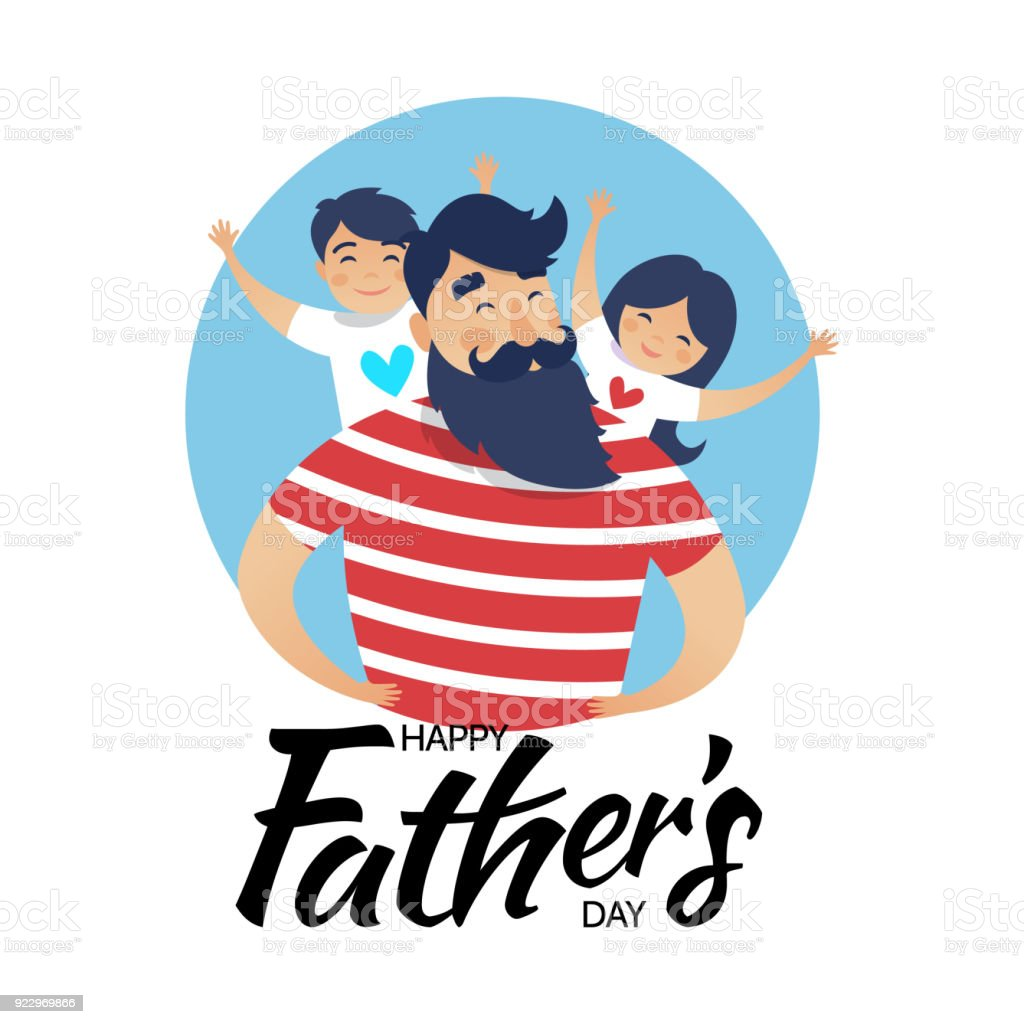 hight resolution of father s day card royalty free fathers day card stock vector art amp more images