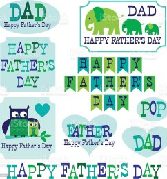 father s day clipart with owls elephants royalty free fathers day clipart with owls elephants stock [ 1016 x 1024 Pixel ]