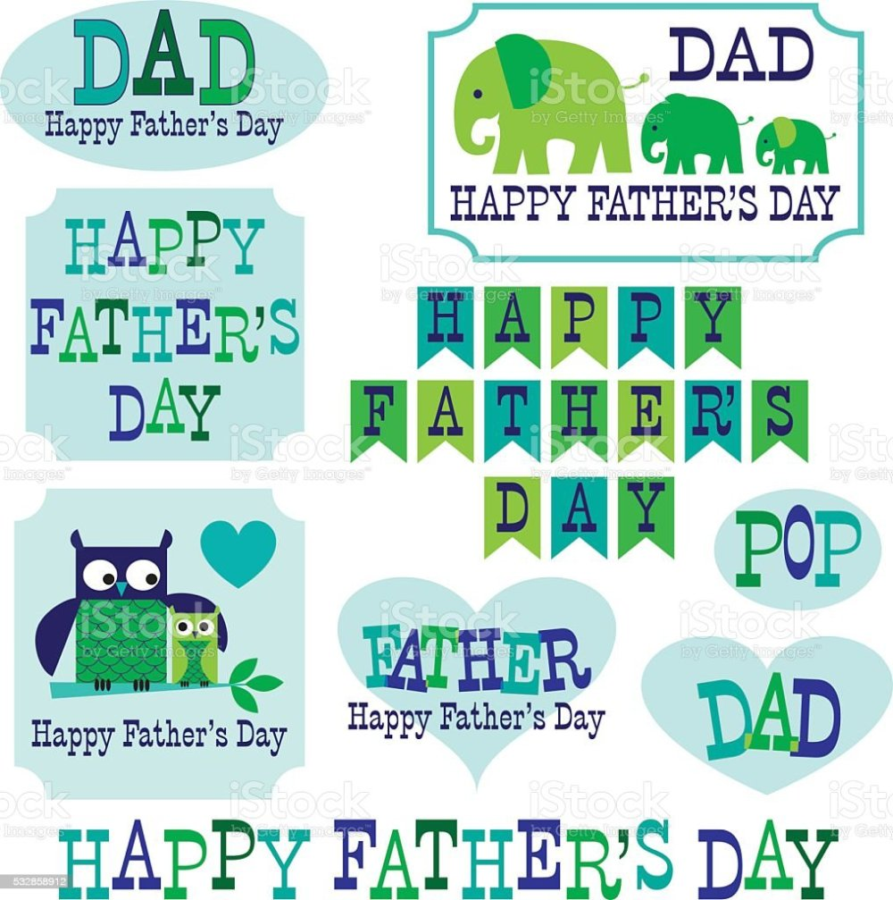 medium resolution of father s day clipart with owls elephants royalty free fathers day clipart with owls elephants stock