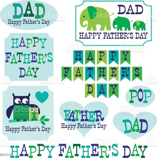 small resolution of father s day clipart with owls elephants royalty free fathers day clipart with owls elephants stock