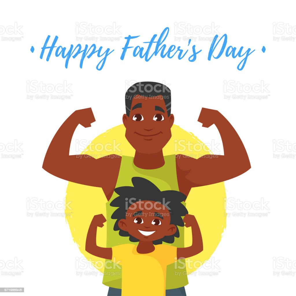 hight resolution of fathers day greeting card royalty free fathers day greeting card stock vector art amp