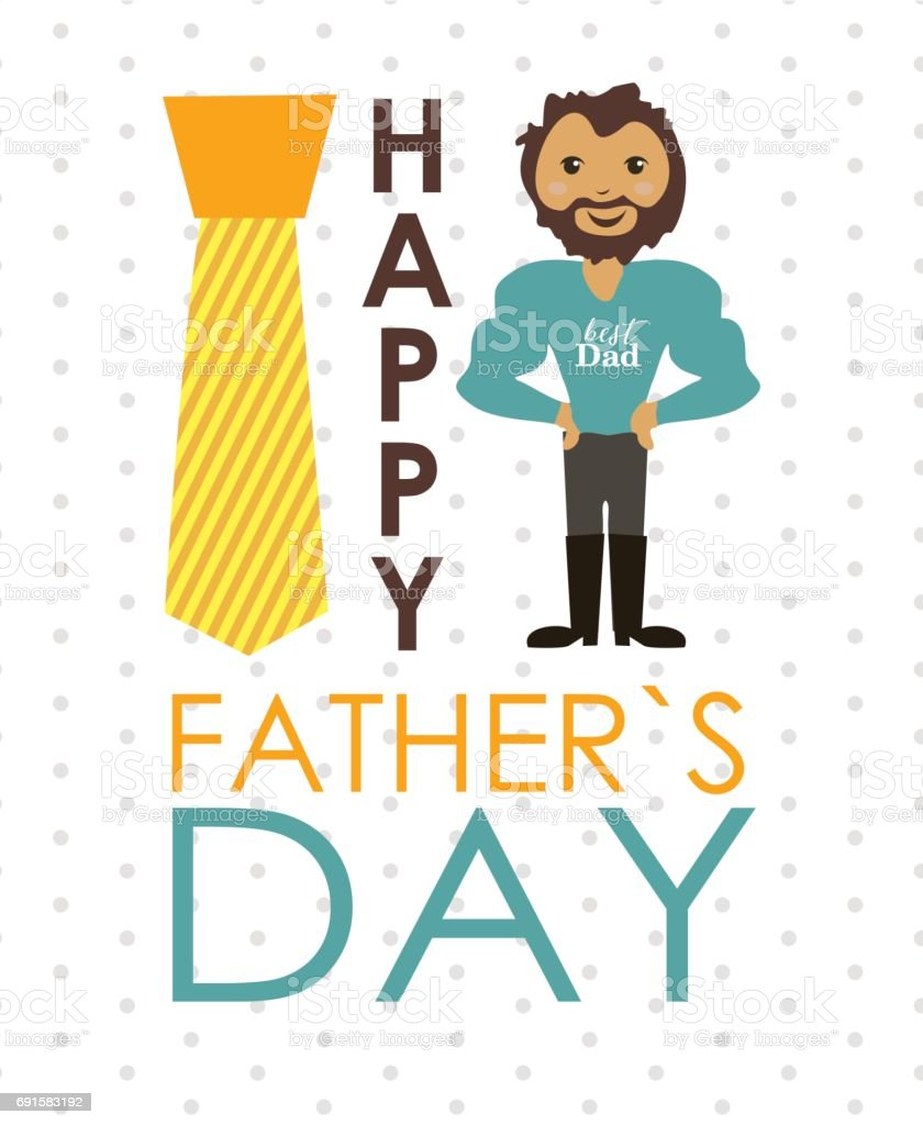 hight resolution of father s day royalty free fathers day stock vector art amp