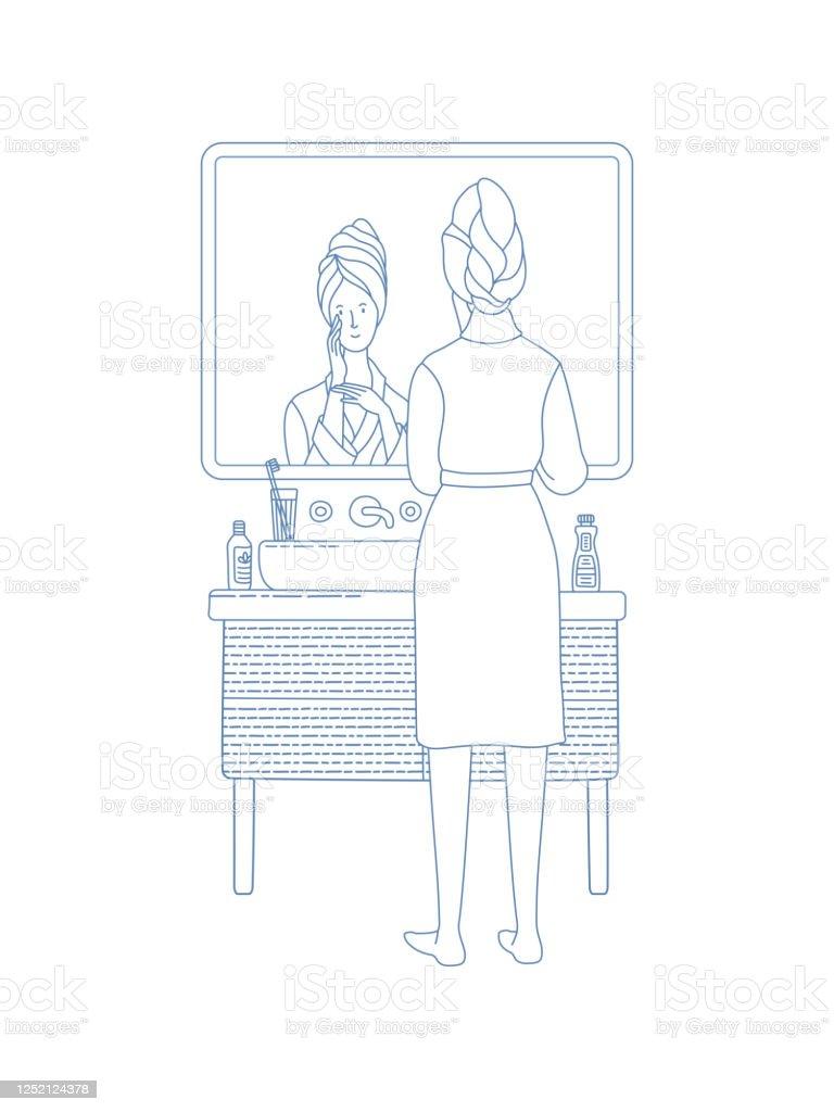 Female Narcissism Vanity Egotism And Love Of Self Stock ...