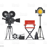 Film Set Director Chair Stock Vector Art & More Images of ...