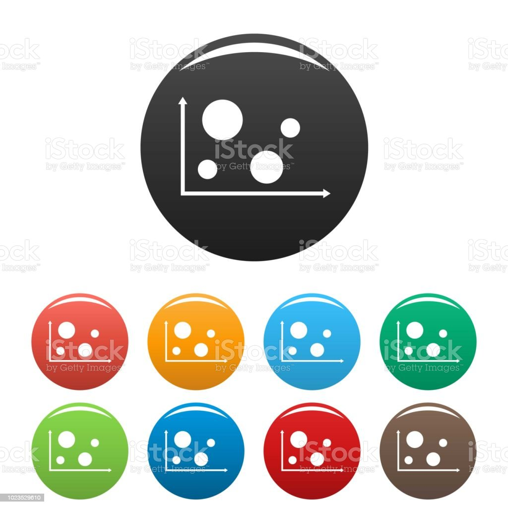 hight resolution of finance diagram icons set collection circle royalty free finance diagram icons set collection circle stock
