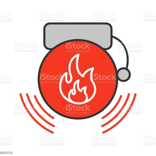 small resolution of fire alarm icon royalty free fire alarm icon stock vector art amp more images