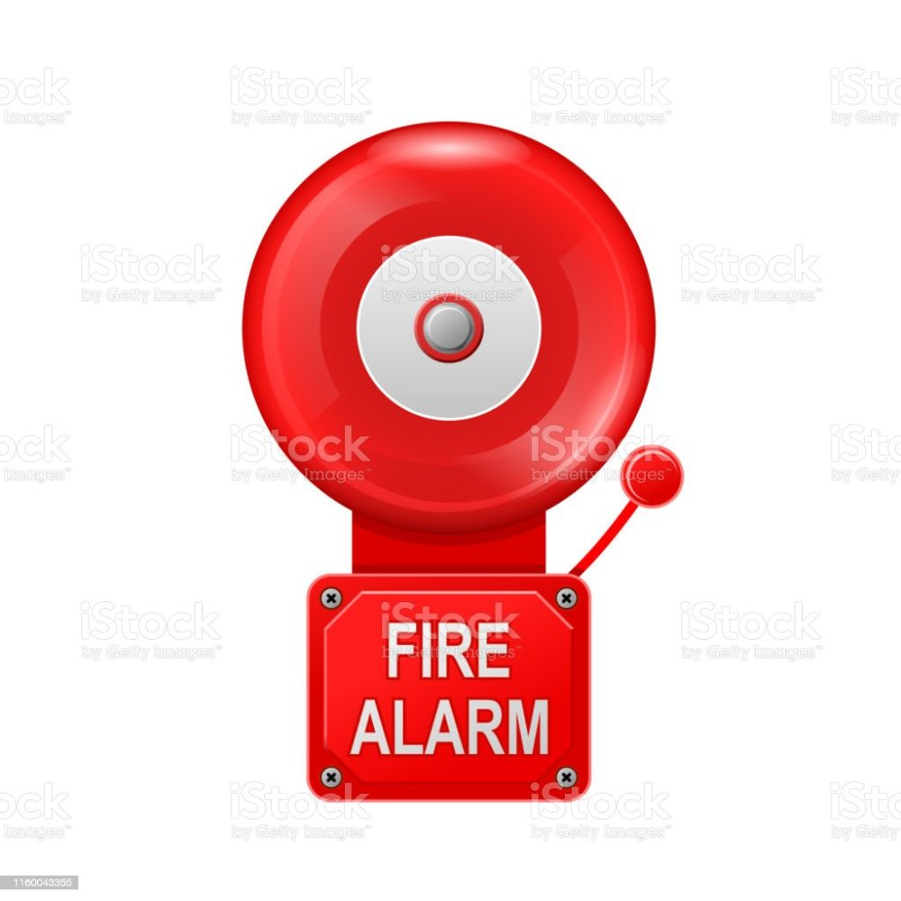 medium resolution of fire alarm system alarm metall bell public place fire equipment royalty free