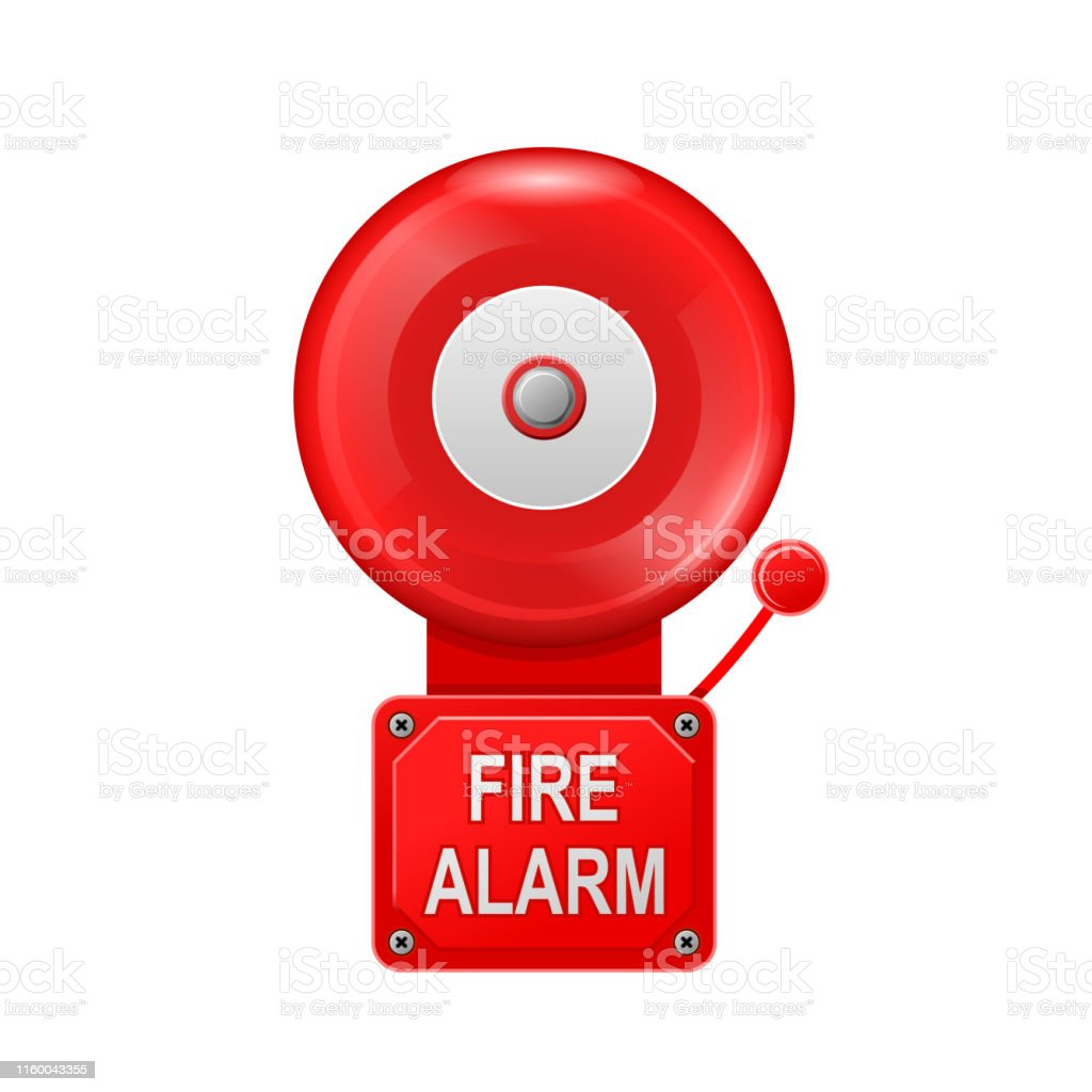 hight resolution of fire alarm system alarm metall bell public place fire equipment royalty free