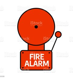 fire alarm system red alarm vector illustration illustration  [ 1024 x 1024 Pixel ]