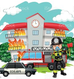 adult clip art computer graphic crime scene cutting fire fighter at the fire station royalty free  [ 1024 x 945 Pixel ]