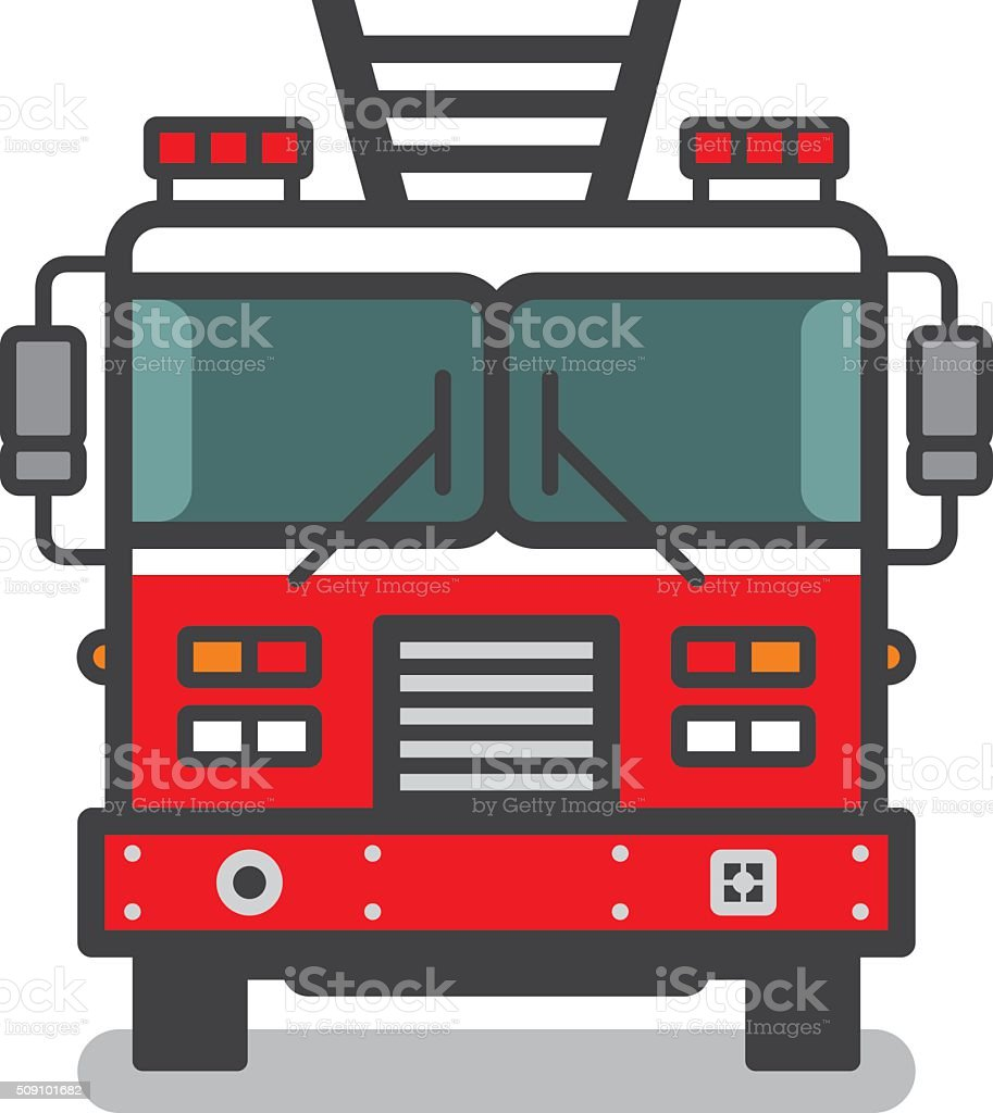 Fire Truck Clip Art Images Backgrounds