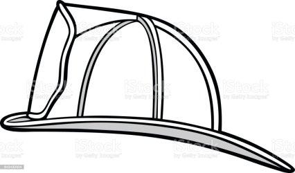 helmet firefighter vector fireman hat illustration clip cartoon illustrations equipment finance industry business crime usa istockphoto