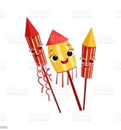 fireworks kids birthday party happy smiling animated object cartoon girly character festive illustration illustration  [ 1024 x 1024 Pixel ]