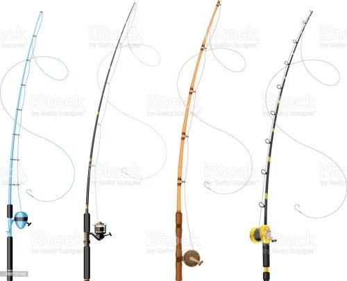 small resolution of fishing poles illustration
