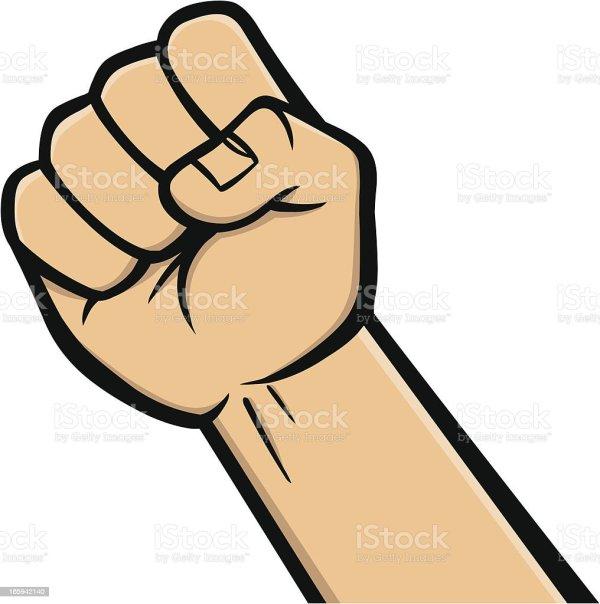 fist icon stock vector art &