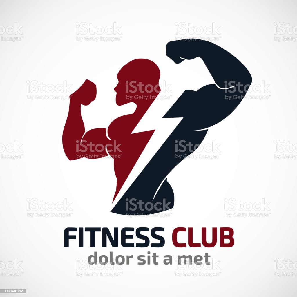 Free Gym Logo Vector Art
