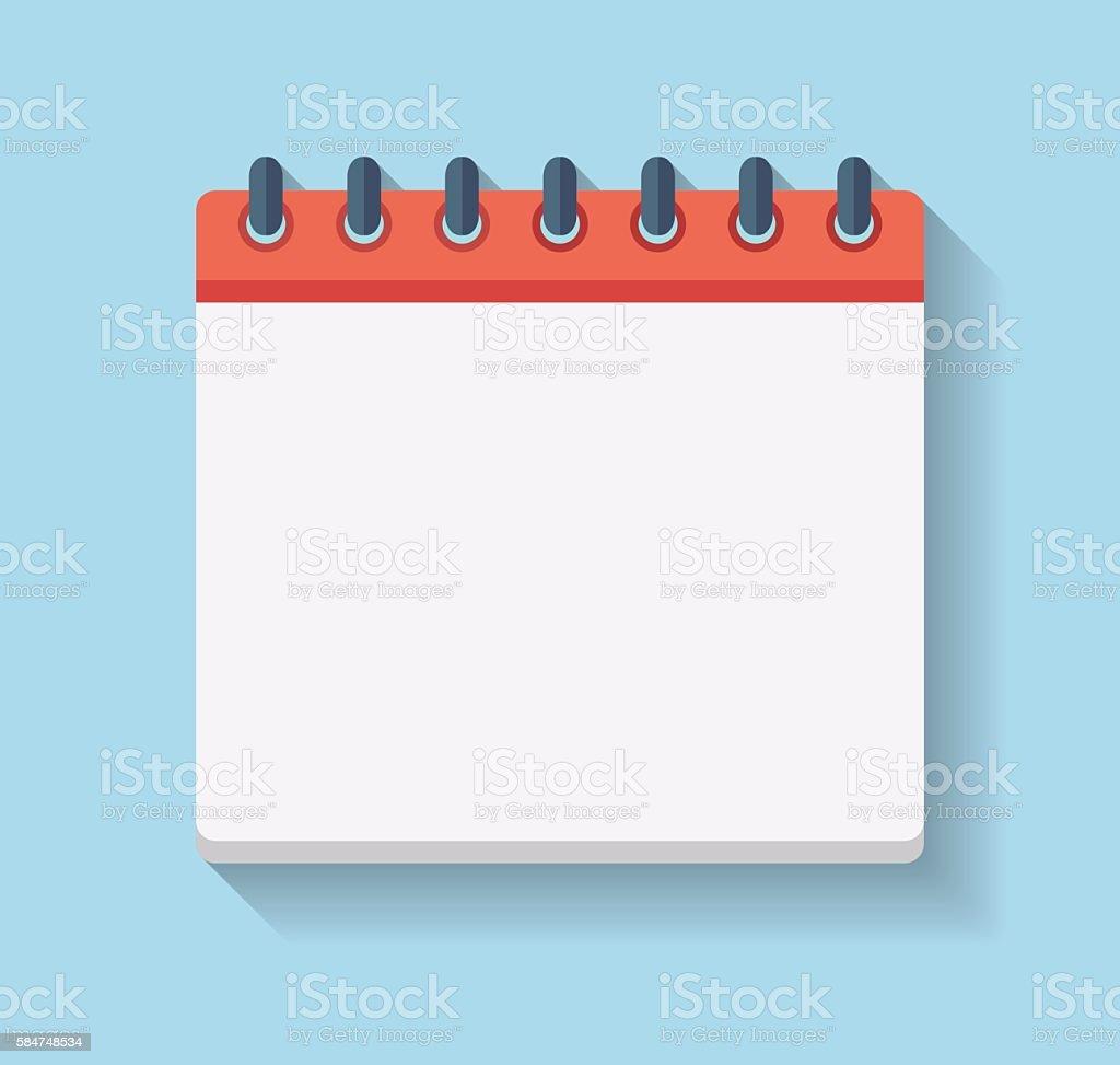 best calendar page illustrations